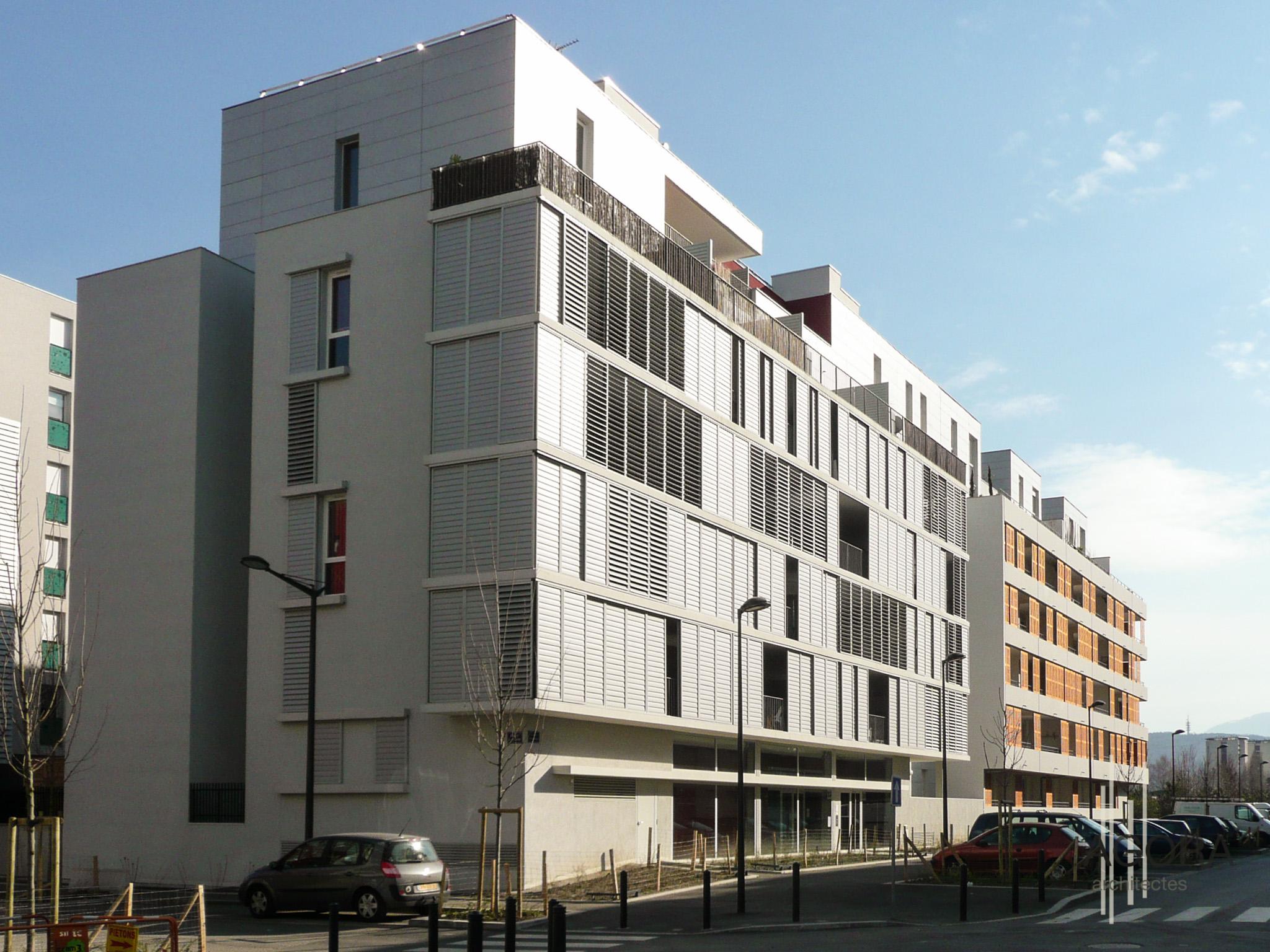 les terrasses des sylphides 31 logements grenoble 38 agora architectes grenoble. Black Bedroom Furniture Sets. Home Design Ideas